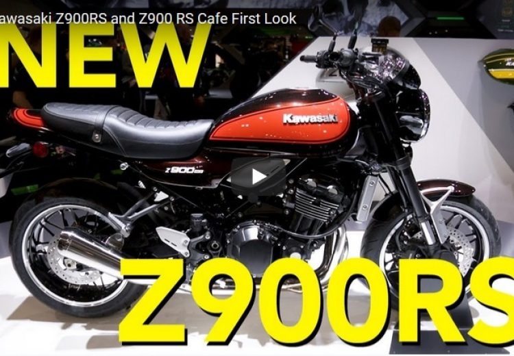 First Look 2018 Kawasaki Z900RS Cafe