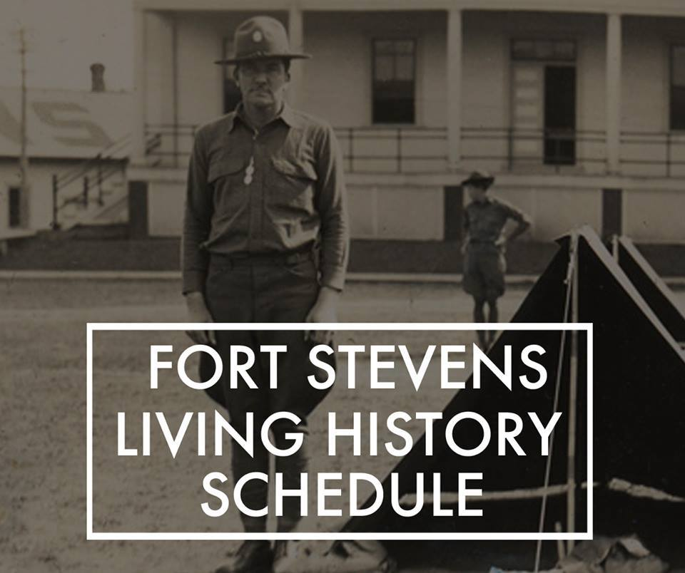 Various Summer Events at Fort Stevens