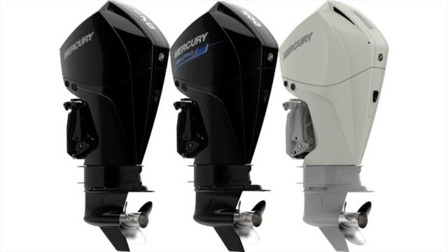 New Mercury Four Stroke Outboard Engines Hit the Water